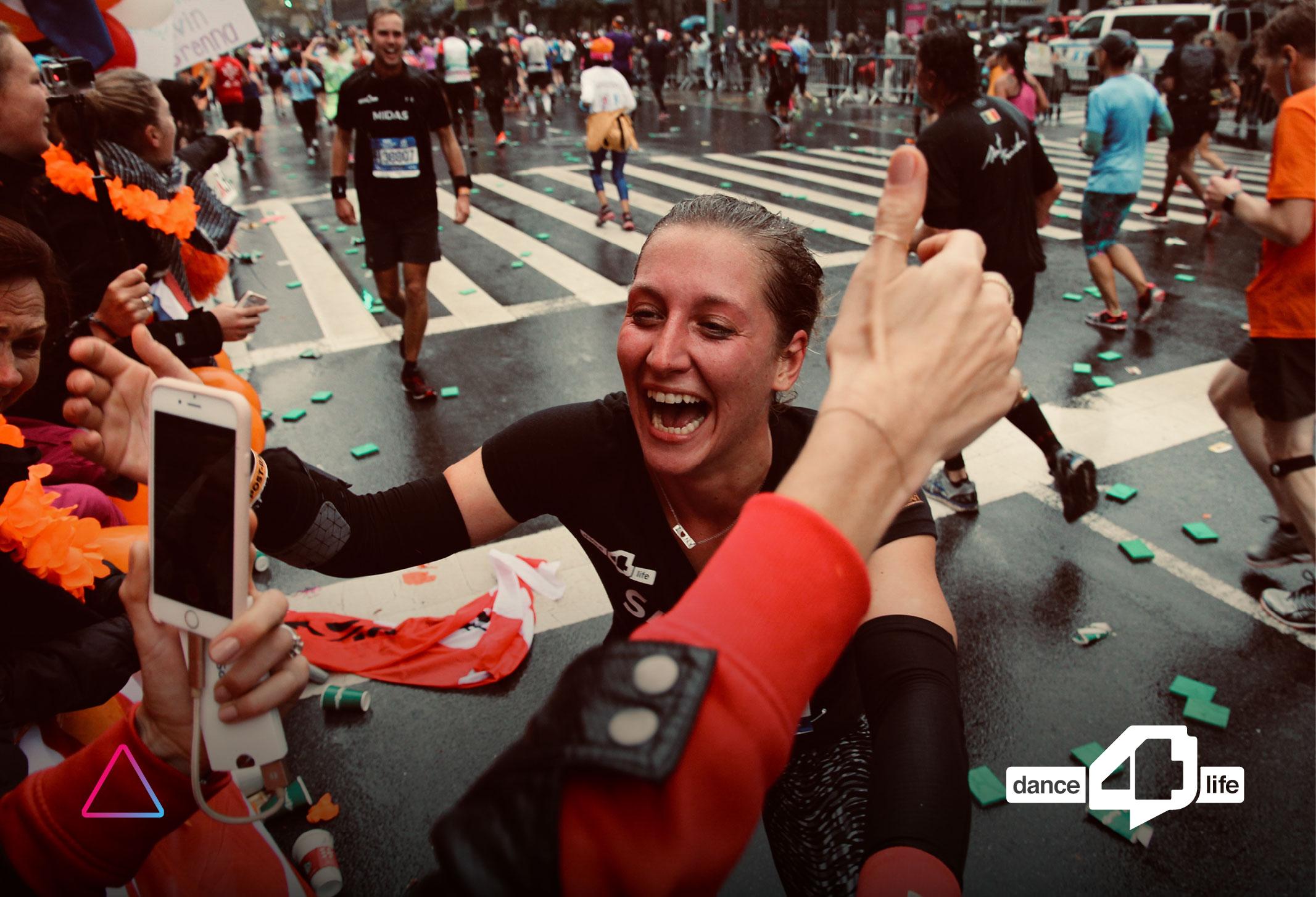 Advidi Joins Dance4Life to Run the 2018 New York Marathon